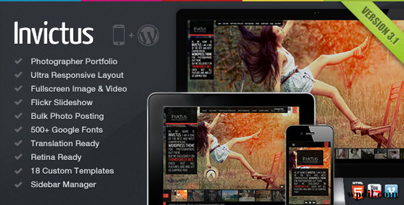 Invictus,wp,wordpress,creative,themes,theme,creative