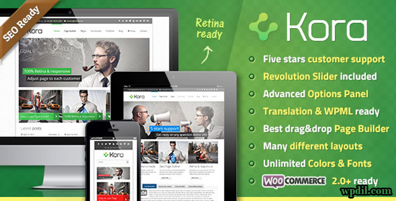 Kora,wordpress,wpdil,wp,themes,theme,premium,template,php