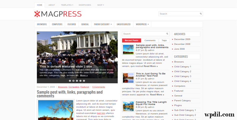 MagPress,themes,theme,wordpress,wp