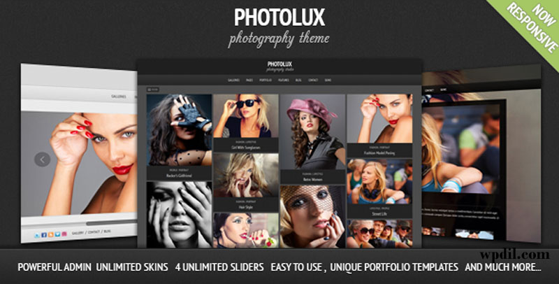 Photolux,wp,wordpress,creative,themes,theme,creative