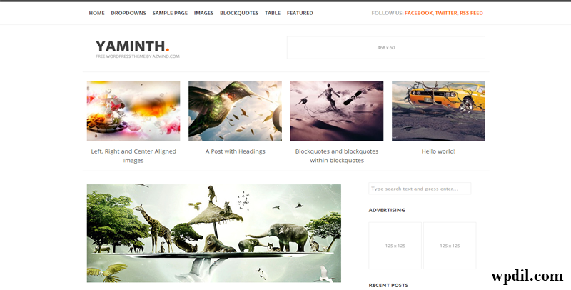Yaminth,themes,theme,wordpress,wp