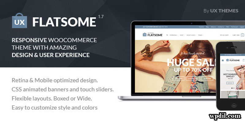 Flatsome,ecommerce,sticky,navigation,wordpress,wordpress themes,wp,themes,theme,premium themes,Sticky Navigation ECommerce