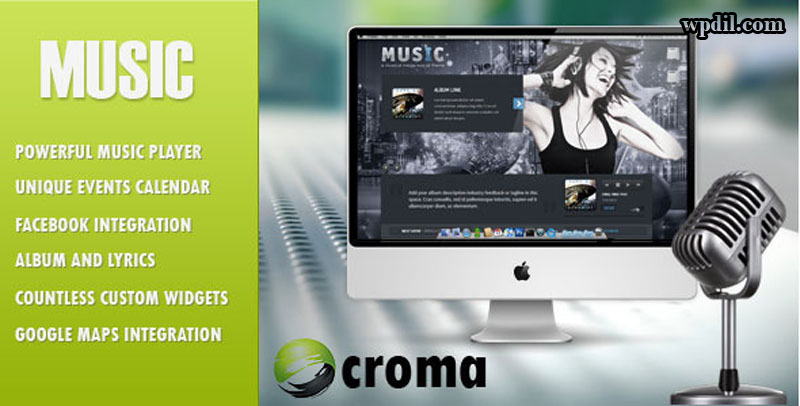 Music,entertainment,wordpress,themes,theme,wp,premium