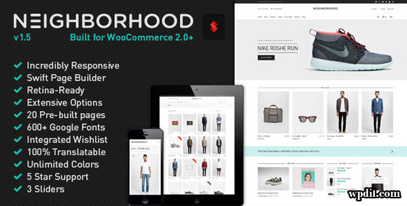 Neighborhood,sticky,navigation,ecommerce,wordpress,wordpress themes,wp,themes,theme,premium themes,Sticky Navigation ECommerce