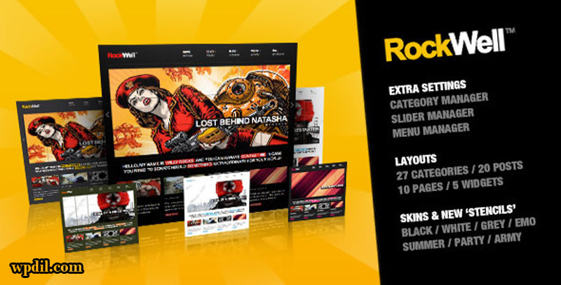 RockWell,entertainment,wordpress,themes,theme,wp,premium