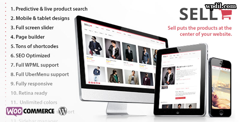 Sell,ecommerce,sticky,navigation,wordpress,wordpress themes,wp,themes,theme,premium themes,Sticky Navigation ECommerce