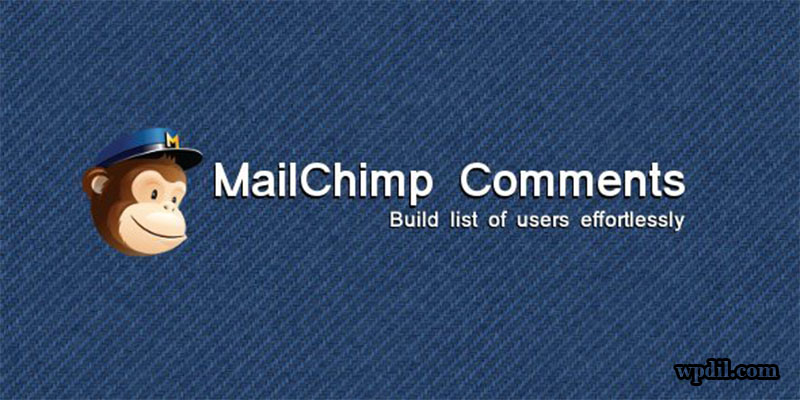 mailchimp,comment plugin