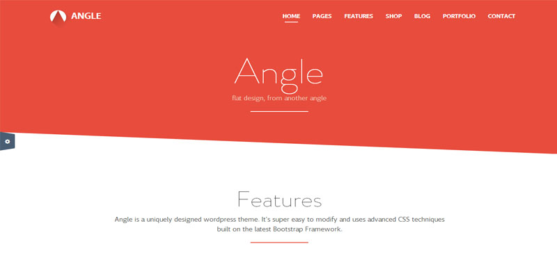 angel,bootstrap theme