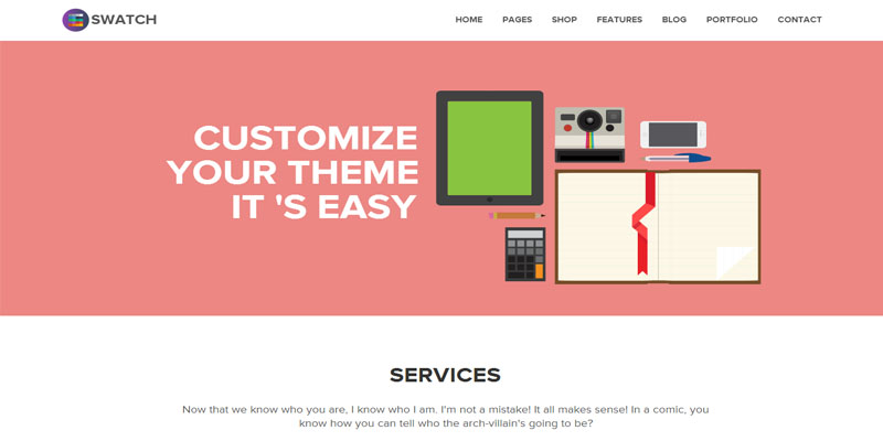swatch,bootstrap theme