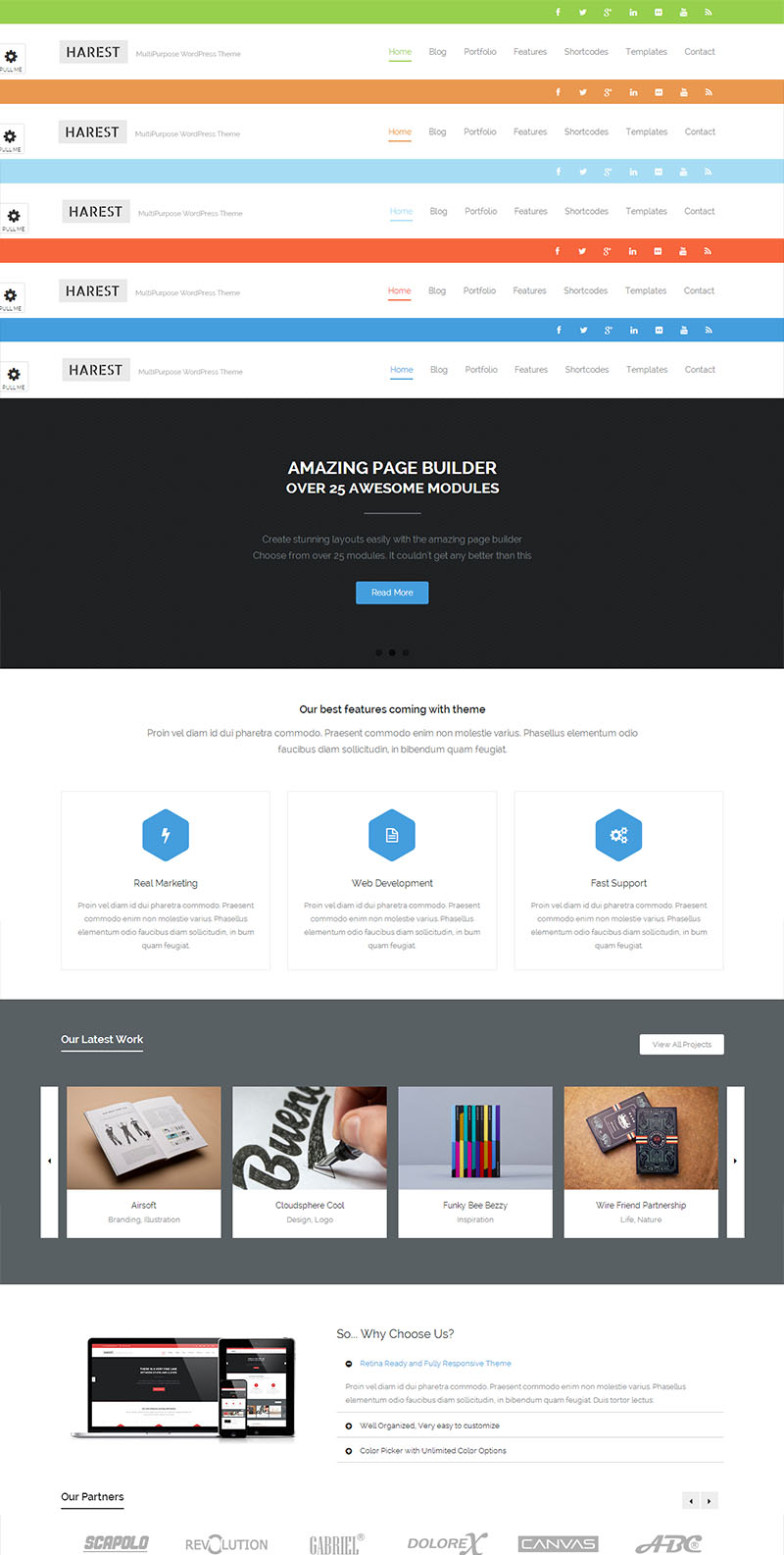 harest,Harest Responsive Multi-Purpose Theme, Thinkupthemes