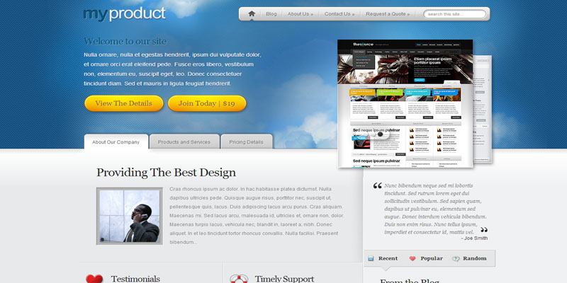 myproduct,premium wordpress themes