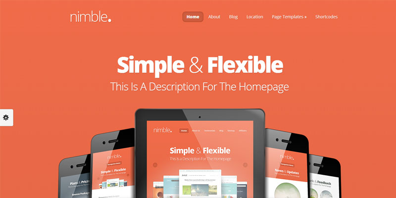 nimble,premium wordpress themes