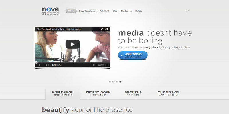 nova,premium wordpress themes