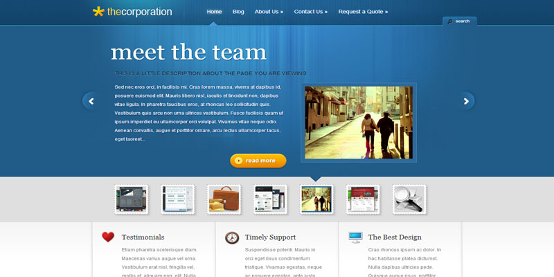 thecorporation,premium wordpress themes